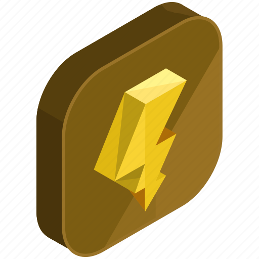 application, apps, electric, electricity, lightening, mobile icon