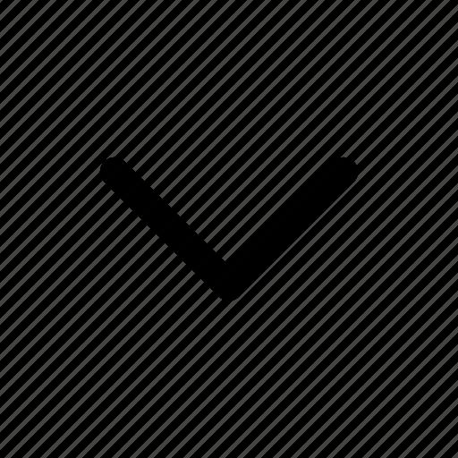 arrow, bottom, chevron, down, expand, move, up icon