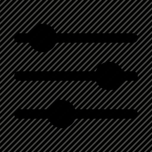 data, filter, filtering, funnel, nav, sort, tools icon