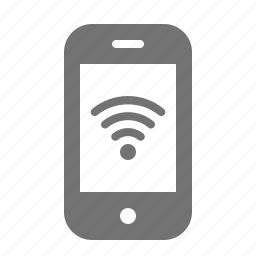 device, mobile, phone, portable, smart, wifi, wireless icon