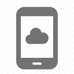 backup, cloud, data, device, internet, portable, tablet icon