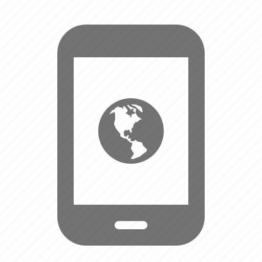 device, globe, internet, media, portable, tablet, world icon