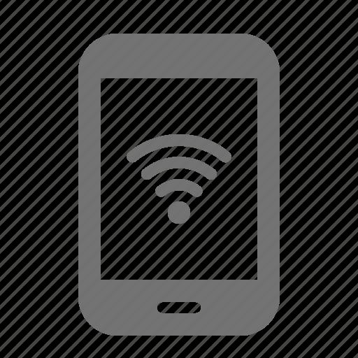 device, internet, media, portable, tablet, wifi, wireless icon