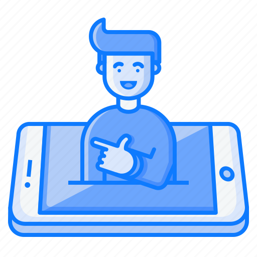 avatar, concept, feeling, gesture, mobile, smile icon