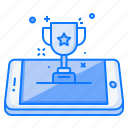 award, concept, medal, mobile, prize, star, trophy icon