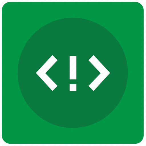 api, attention, code, error, mobile, source icon