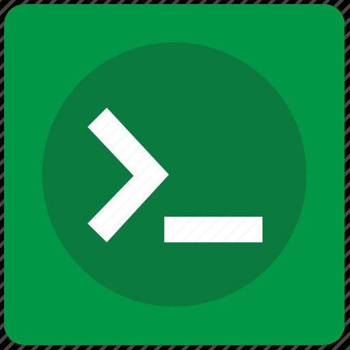 code, command, program, window icon