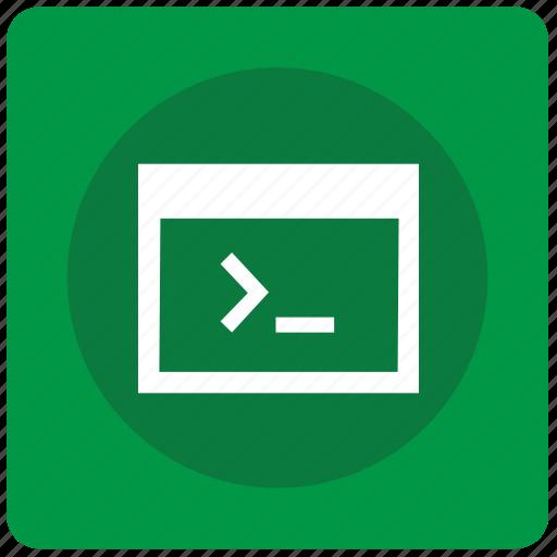 code, command, mobile, program, source, window icon