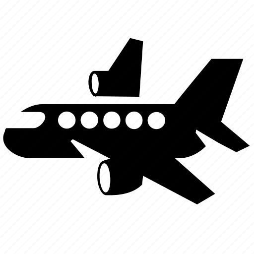 air, airlines, airplane, airport, bomber, craft, flight, fly, plane, traffic, transport, transportation, travel, vehicle icon