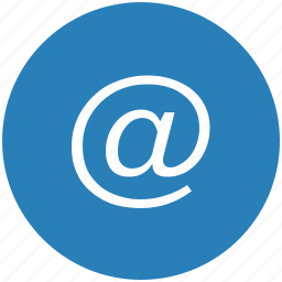 email, keyboard, mail, mailer, message, round icon