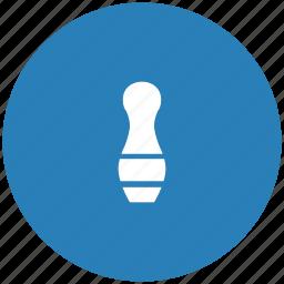 blue, game, kegel, round icon