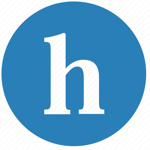 alphabet, h, keyboard, latin, letter, lowcase icon