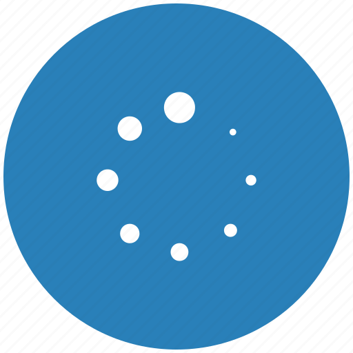 blue, load, loading, round, scale icon