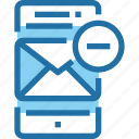 email, letter, mail, mobile, smartphone, technology icon