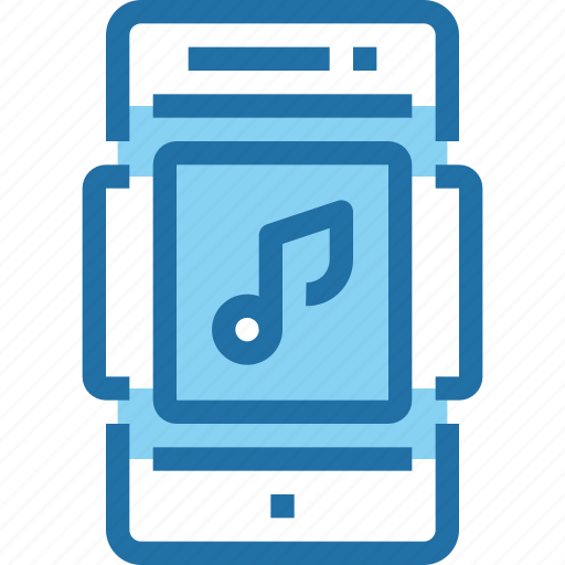 media, mobile, music, smartphone, song, technology icon