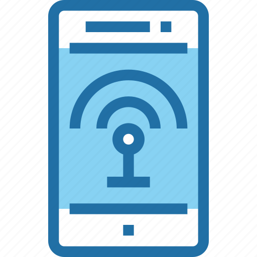 connect, mobile, network, smartphone, technology, wifi icon