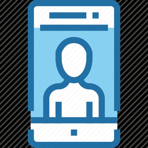 human, mobile, people, smartphone, technology, user icon