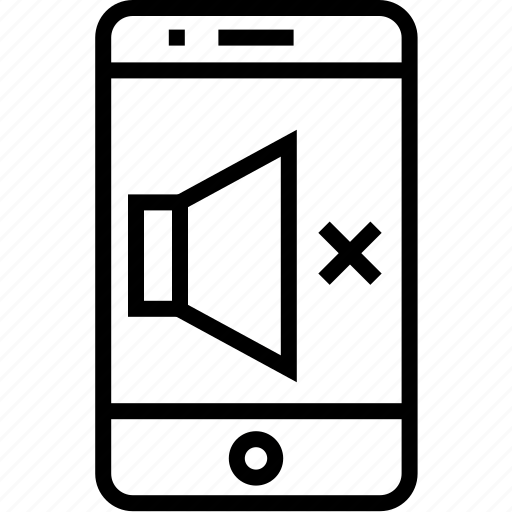 device, iphone, mobile, mobilephone, off, phone, smartphone, speaker, telephone icon