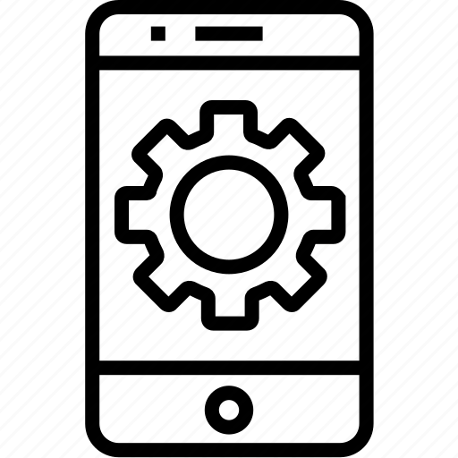 cell, device, iphone, mobile, mobilephone, phone, setting, smartphone, telephone icon