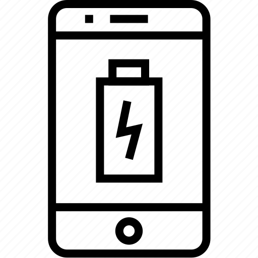 battery, cell, device, iphone, mobile, mobilephone, phone, smartphone, telephone icon