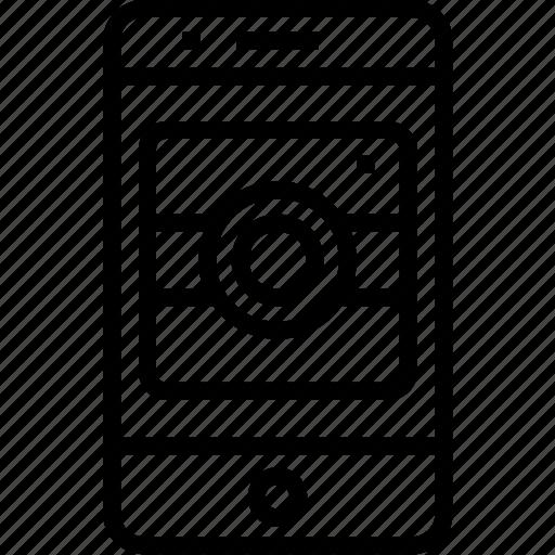 camera, device, iphone, mobile, mobilephone, phone, smartphone, telephone icon
