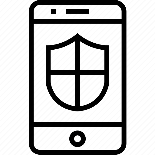 cell, device, iphone, mobile, mobilephone, phone, security, smartphone, telephone icon