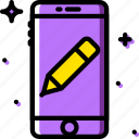 communication, edit, function, mobile icon