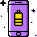 battery, communication, function, medium, mobile icon