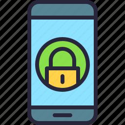app, lock, lockpad, mobile, phone, screen icon