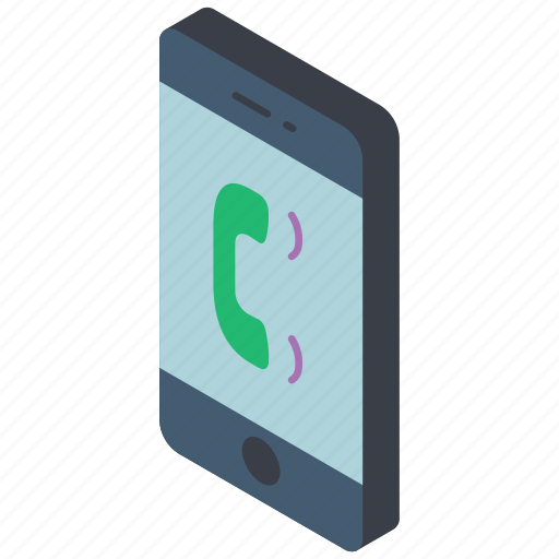 function, iso, isometric, mobile, smart phone, vibrate icon