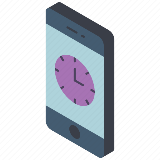 clock, function, functions, iso, mobile, smart phone icon