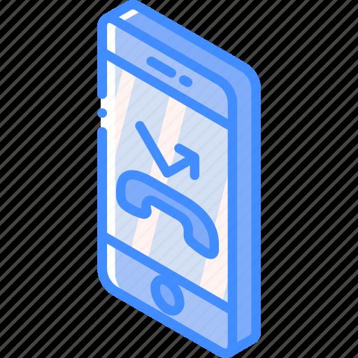 device, divert, function, iso, isometric, smartphone icon