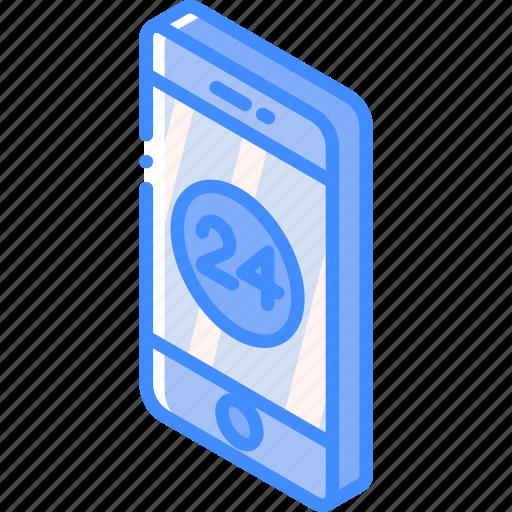 device, function, iso, isometric, smartphone icon