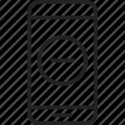 app, delete, mobile, phone, remove icon