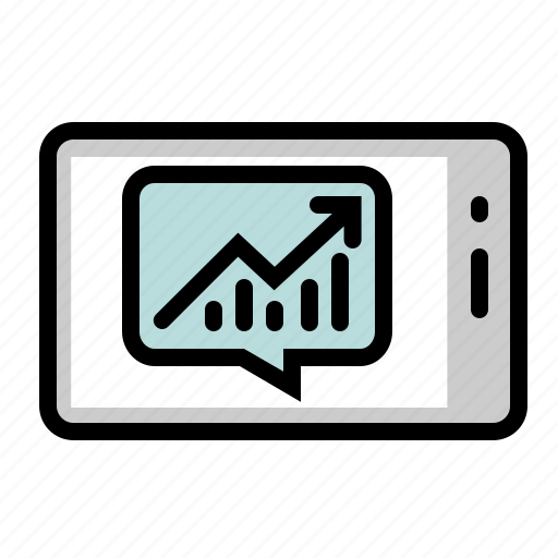 business, communication, marketing, mobile, smartphone, trading, web icon