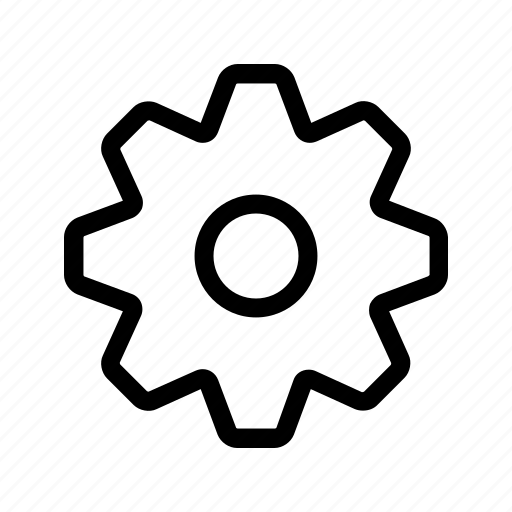 cog, engine, machine, mechanism, setting, turn icon