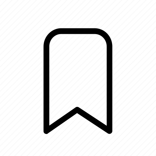 bookmark, clip, flap, holder, marker, sticker icon
