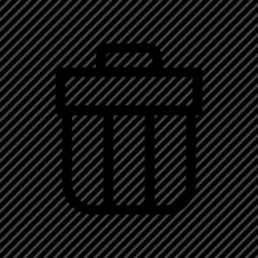 clean, dump, garbage, trash bin, trash can, truck icon