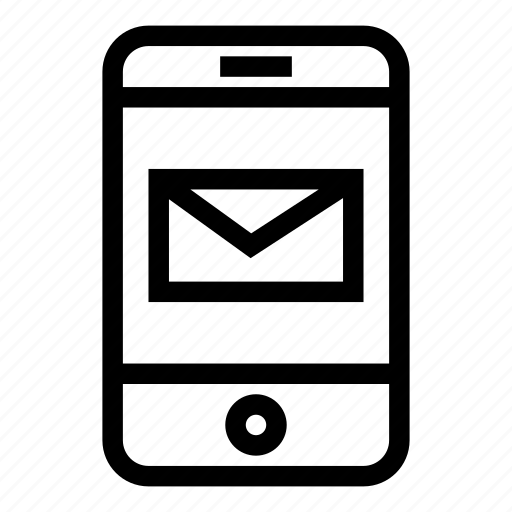 cell, mail, message, phone, sms, text icon