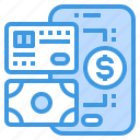 card, cash, credit, exchange, method, mobile, payment