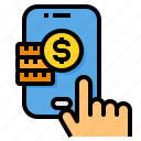 coins, method, mobile, money, payment