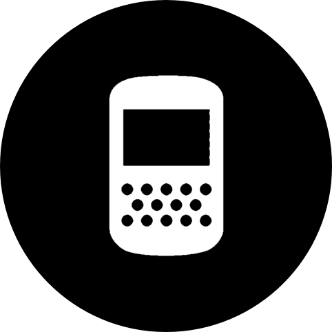 apps, blackberry, calling, games, mobile, mobile phone, phone, screen icon