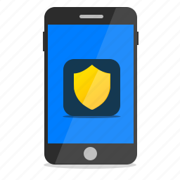 antivirus, mobile, phone, protection, security, virus scanner icon