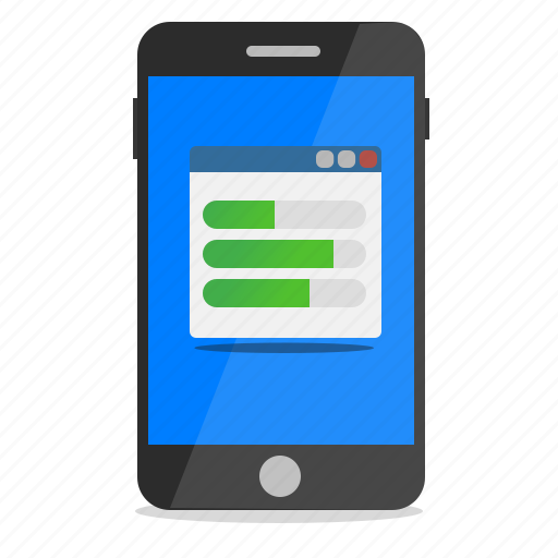 configuration, install, mobile, phone, setup icon
