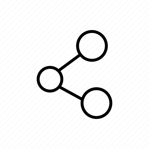 cloud, connections, link, network, social media, storage, url icon