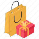 award, gifts, offering, presents, shopping gift icon