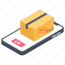 delivery app, digital delivery, online delivery, online parcel, service app, shipping app icon