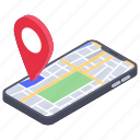 gps, location app, map location, mobile app, mobile location icon