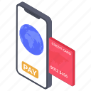 card buying, card payment, card purchasing, digital payment, payment process icon