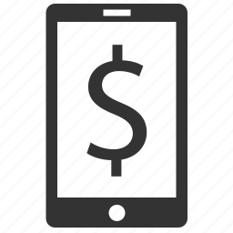 budget, buy, currency, device, dollar, finance, financial, mobile, money, payment, phone, price, sale, telephone icon
